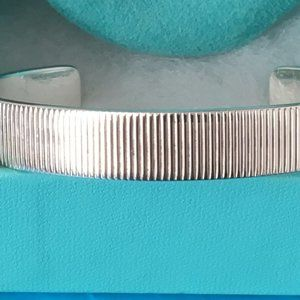 Tiffany & Co. Jewelry - Tiffany & Co Coin Edge Cuff Bracelet (LARGE)UNISEX